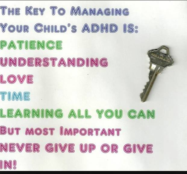 Living with ADHD child