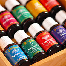 YOUNG LIVING ESSENTIAL OILS- our new love